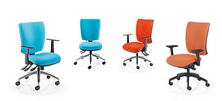 The Icon Plus range offers an innovative look and feel to task and operator seating.