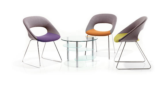 A practical seating solution with a touch of elegance that the user can utilise in most office spaces