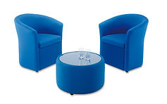 SINGLE TUB CHAIRS WITH CLOSED FRONT