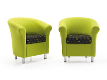 CONTEMPORARY TUB ARMCHAIRS