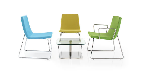 Fully upholstered and cost effective office seating solution ideal for breakout areas