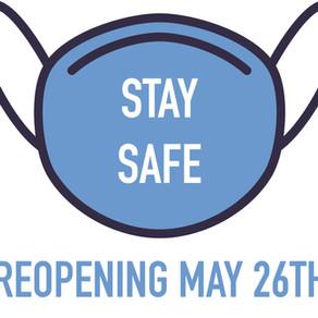 Coronavirus Update - Reopening