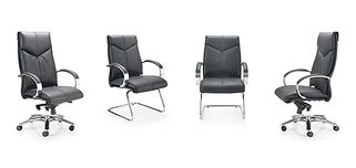 The V7 is an elegant executive eco leather armchair symbolising prestige and status.