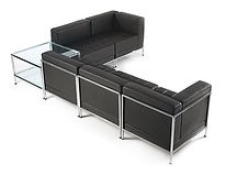 Available in various combinations to fit any size or design of reception area.