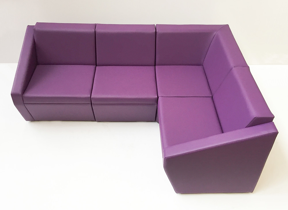A Zest armchair with swivel spider base