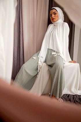 Mint Pleat Love Pants