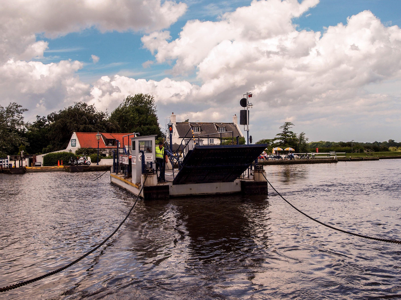 Reedham Chain Ferry