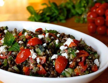 Lentil & Feta Salad