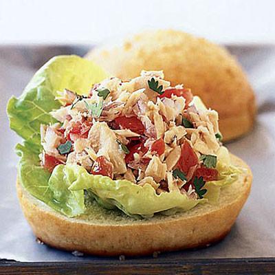 """""""No-Mayo"""" Tuna Sandwich"""