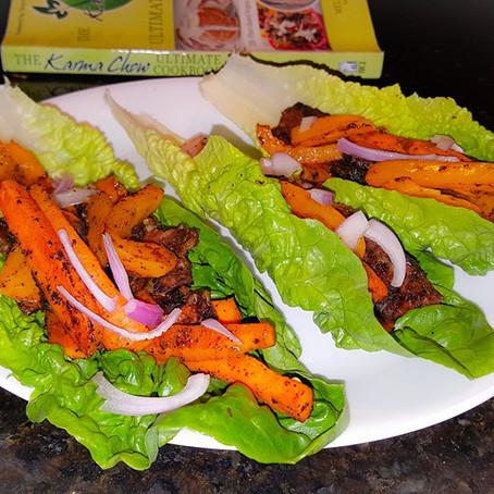 Thai Style Tempeh Lettuce Wraps