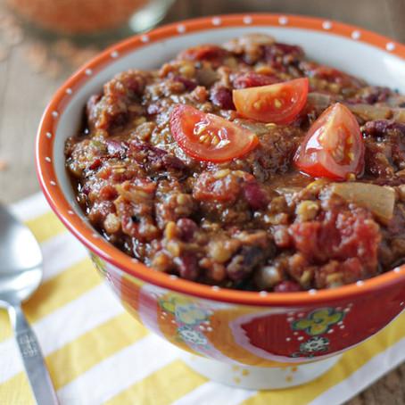Crock Pot Lentil Chili