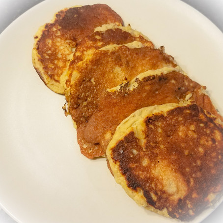 Grain Free, Gluten Free Pancakes