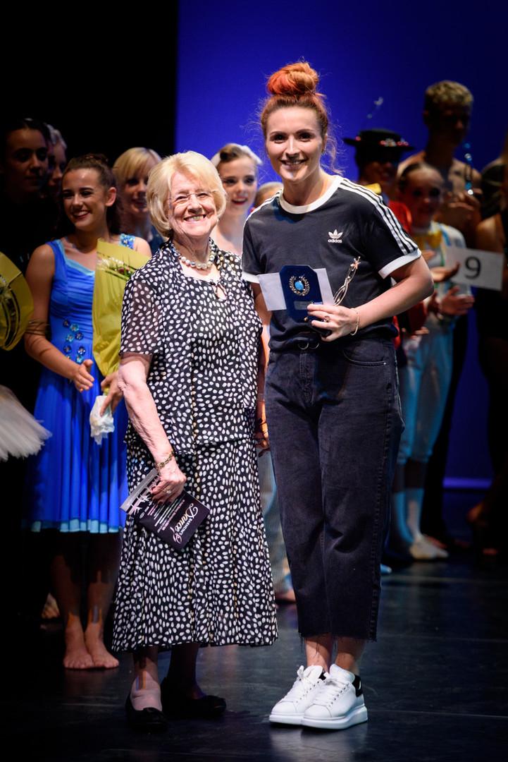 Winning choreographer - Emily Charlton