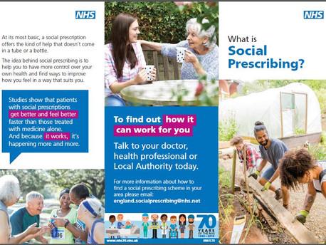 What is social prescribing?