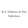 R.A. OSBORNE & SON SOLICITORS