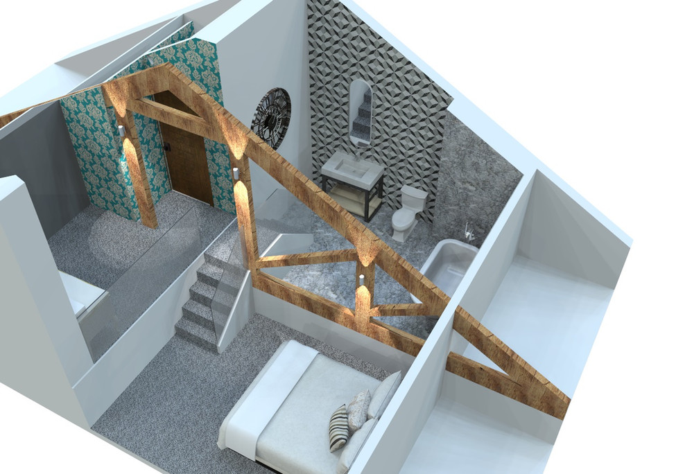 loft conversion 3d view