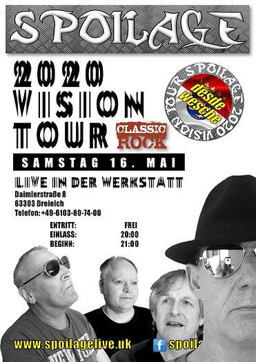 SPOILAGE- 2020 VISION_Werkstatt_Gesichte