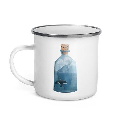 Enamel Mug - Bottled Glacier