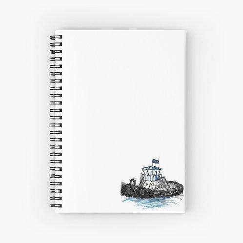 Spiral Notebook - Tug Boat