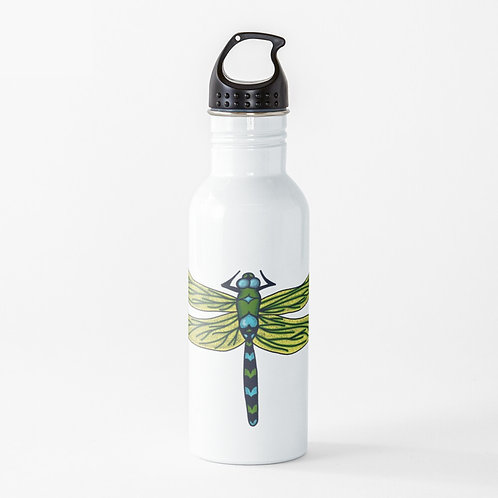Water Bottle - Dotted Dragon Fly