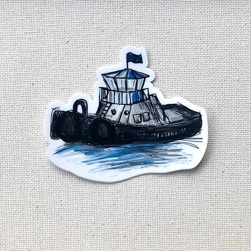 Sticker - Tug Boat