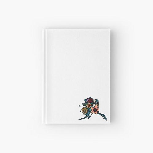 Hardcover Journal - Flowered Alaska