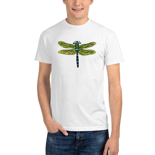 Unisex Sustainable T-Shirt - Dotted Dragonfly
