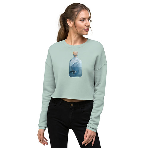 Crop Sweatshirt - Bottled Glacier