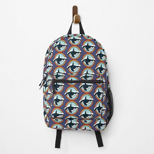 Backpack - Rainbow Orca