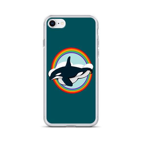 iPhone Case - Rainbow Orca