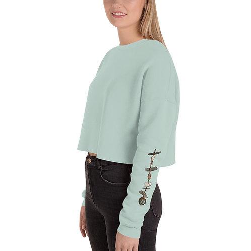 Crop Sweatshirt - Wall Hanging
