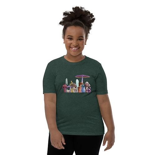 Youth Short Sleeve T-Shirt - Mushrooms