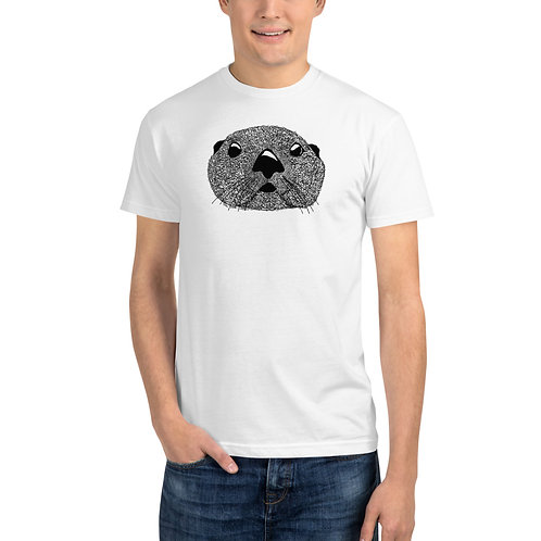 Unisex Sustainable T-Shirt - Squiggly Otter