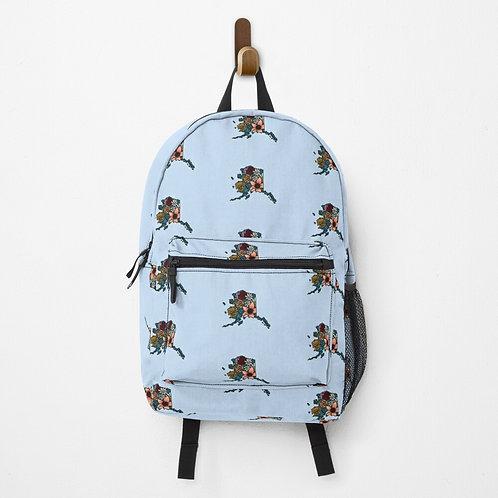Backpack - Flowered Alaska