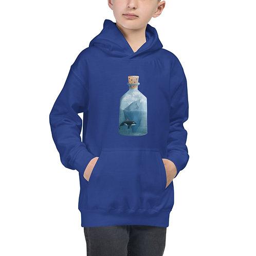 Kid's Hoodie - Bottled Glacier