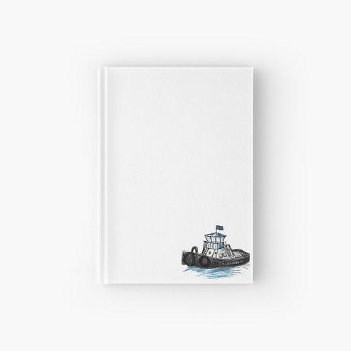Hardcover Journal - Tug Boat
