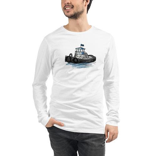 Unisex Long Sleeve Tee - Tug Boat
