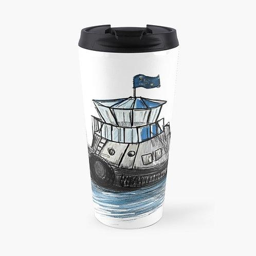 Travel Mug - Tug Boat