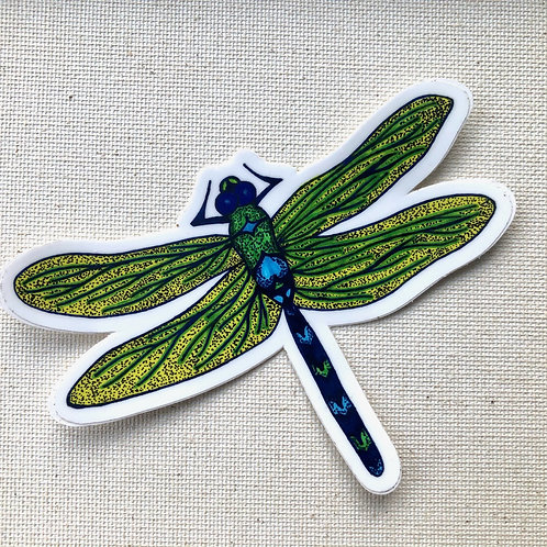 Sticker - Dotted Dragon Fly