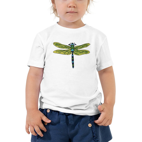 Toddler Short Sleeve Tee - Dotted Dragonfly