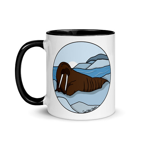 Mug with Color Inside - Walrus