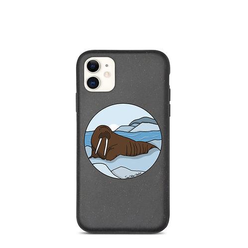 Biodegradable iPhone Case - Walrus