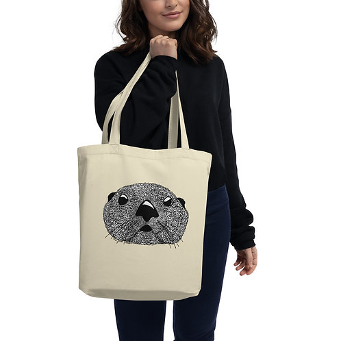 Eco Tote Bag - Squiggly Otter