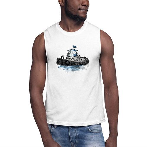 Unisex Muscle Shirt - Tug Boat