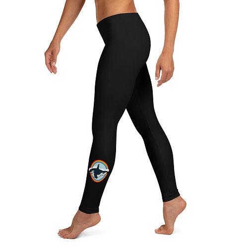 Leggings - Rainbow Orca
