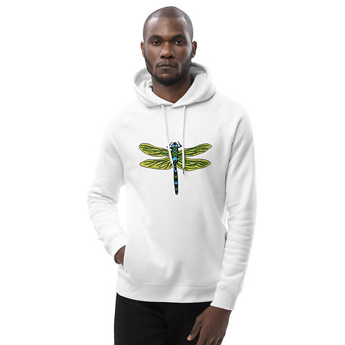 Unisex Eco Hoodie - Dotted Dragonfly