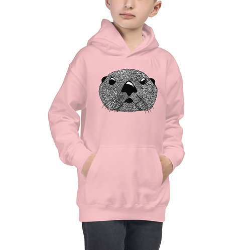 Kid's Hoodie - Squiggly Otter