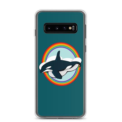 Samsung Case - Rainbow Orca