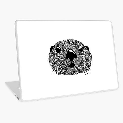Laptop Skin - Squiggly Otter