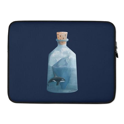 Laptop Sleeve - Bottled Glacier